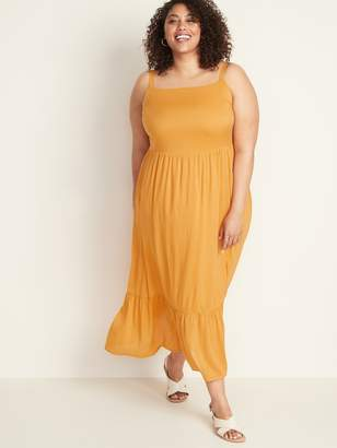 Old Navy Fit & Flare Plus-Size Tiered Maxi Dress