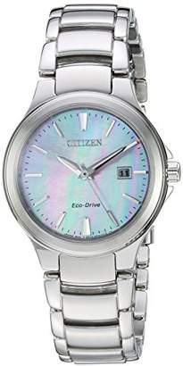 Citizen Women's 'Eco-Drive' Quartz Stainless Steel Fashion Watch