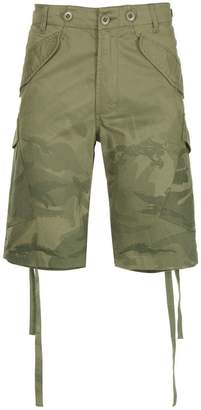 MHI military printed shorts