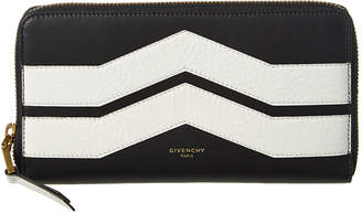 Givenchy Leather Zip Around Wallet