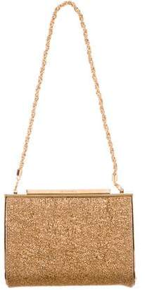 Devi Kroell Metallic Chain-Link Clutch