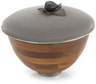 Michael Aram Small Fig Leaf Serving Bowl - Brown