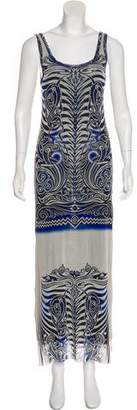 Jean Paul Gaultier Soleil Patterned Maxi Dress