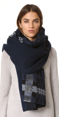 Standard Form Oversized Anders Plaid Scarf $320 thestylecure.com