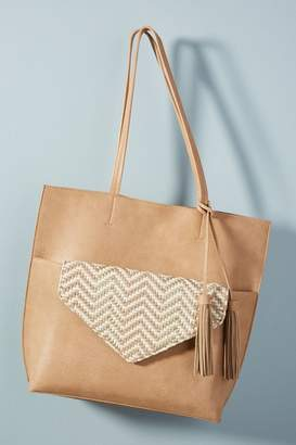 Anthropologie Thoma Clutch + Tote Bag