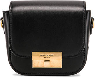 Saint Laurent Mini Betty Satchel Bag in Black | FWRD