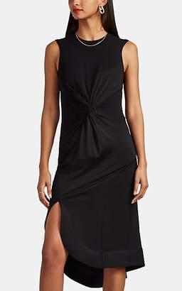 Esteban Cortazar Women's Knot-Detailed Jersey Flared Dress - Black