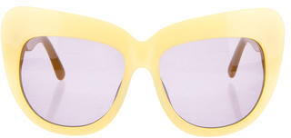 House of Harlow 1960 Chelsea Cat-Eye Sunglasses $95 thestylecure.com