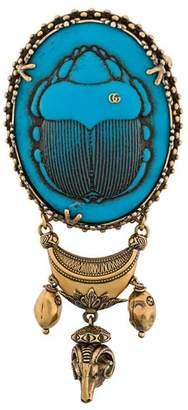 Gucci Beetle brooch