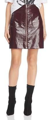 McQ Coated Mini Skirt