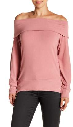 Cupcakes And Cashmere Brooklyn Off-the-Shoulder Top