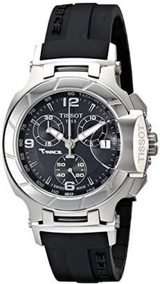 Tissot Women's T0482171705700 T-Race Dial Rubber Strap Watch