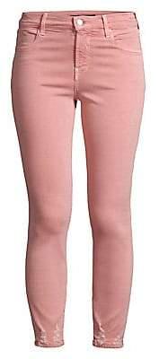 J Brand Women's Alana Coated Skinny Jeans