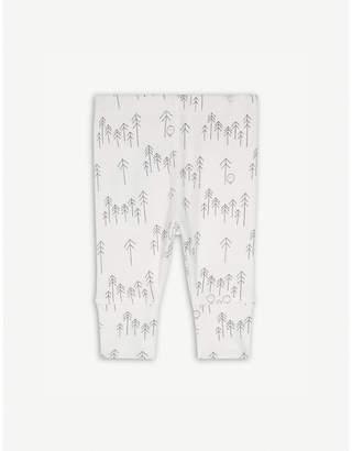 BABY MORI Forest print leggings 0-18 months