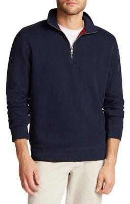 Nautica Classic-Fit Quarter-Zip Pullover