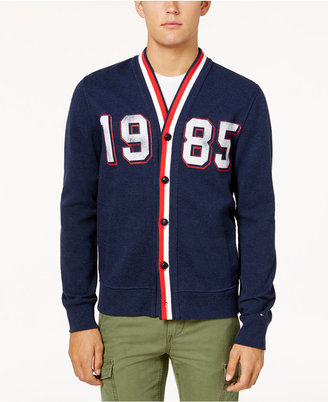 Tommy Hilfiger Men's Vintage Cardigan $110 thestylecure.com