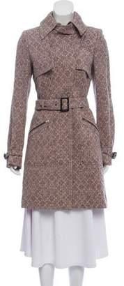 Stella McCartney Silk Jacquard Coat