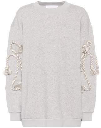 See by Chloe Cotton-blend sweatshirt