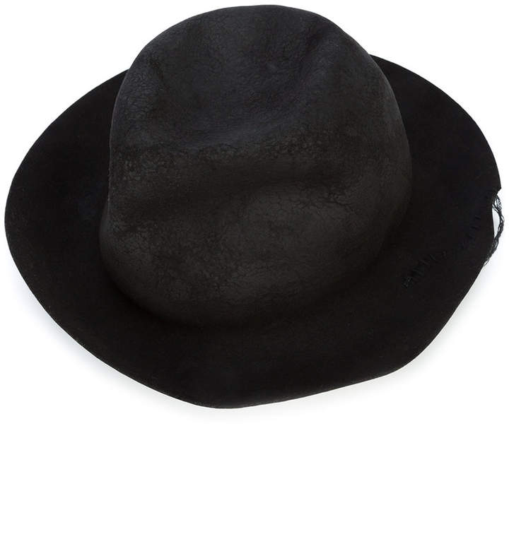 Horisaki Design & Handel grained bowler hat