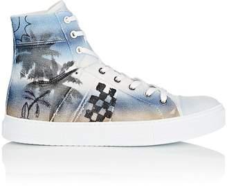 Amiri Men's Sunset Canvas Sneakers