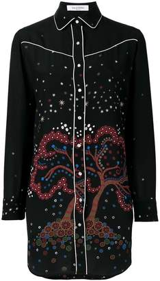 Valentino 'Cherry Tree' blouse