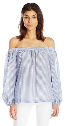 BCBGMAXAZRIA Women's Ellsie Off Shoulder Top