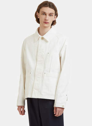 Maison Margiela Denim Work Jacket in White