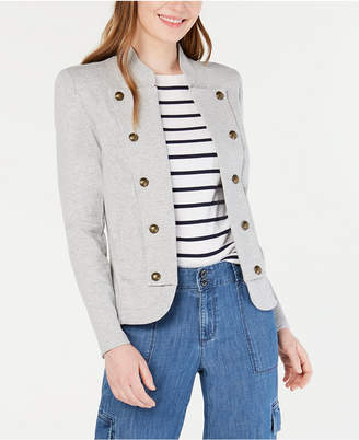 Tommy Hilfiger Knit Band Jacket