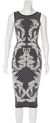 Herve Leger Alexia Jacquard Dress