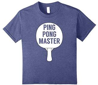 Ping Pong Master Table Tennis T-shirt - Funny Tee for Player