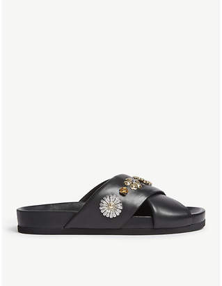 Claudie Pierlot Acuba embellished leather sandals