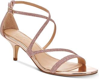 Badgley Mischka Gal Strappy Evening Sandals Women's Shoes