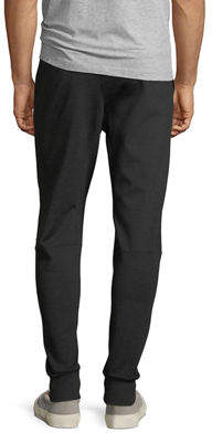 Eleven Paris Fleece Zip-Pocket Jogger Pants