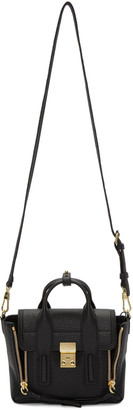 3.1 Phillip Lim Black Mini Pashli Satchel $695 thestylecure.com