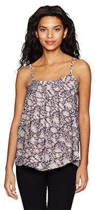 William Rast Women's Willliam Rast-Moore Spaghetti Strap Woven Tank