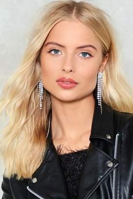 Nasty Gal Heads Will Roll Diamante Earrings