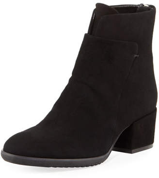 Sesto Meucci Fleo Comfort Low-Heel Booties, Black