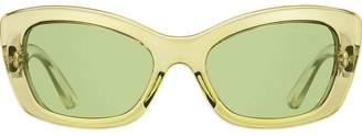 Prada Postcard rectangular frame sunglasses