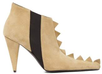 Zig Zag Ankle Boot Gold