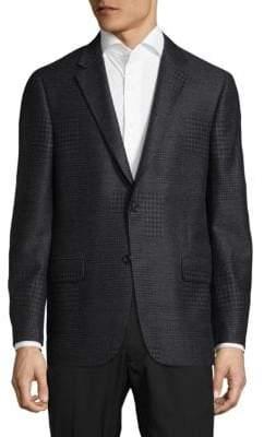 Hickey Freeman Milburn II Notch Lapels Jacket