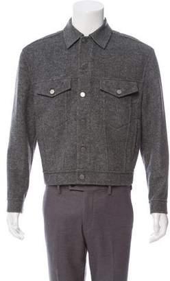 Alexander Wang Virgin Wool Blend Utility Jacket