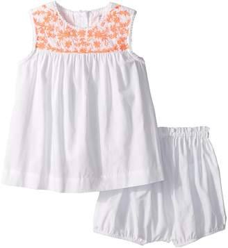 Ralph Lauren Embroidered Top Bloomer Set Girl's Active Sets