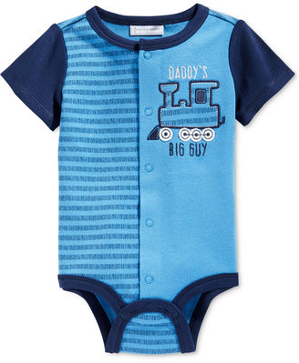First Impressions Daddy's Big Guy Train Creeper, Baby Boys (0-24 months), Only at Macy's $5.98 thestylecure.com