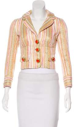Dolce & Gabbana Structured Cropped Jacket
