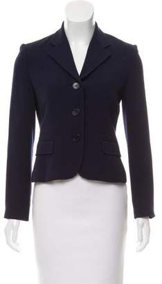 Ralph Lauren Structured Wool Blazer
