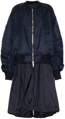 Juun.J long bomber jacket
