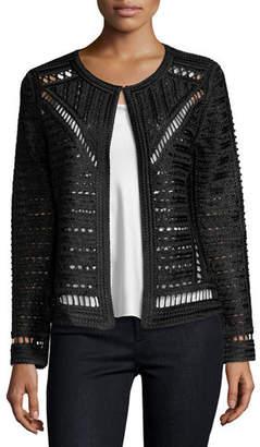 Berek Plus Size Crochet Topper Jacket