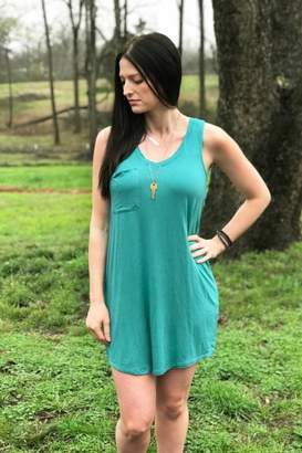 Diamond T Outfitters The Pocket Racer Tank Dress