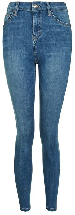 Topshop Topshop Moto authentic blue jamie jeans