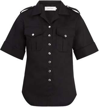 Marques Almeida MARQUES'ALMEIDA Short-sleeved twill shirt